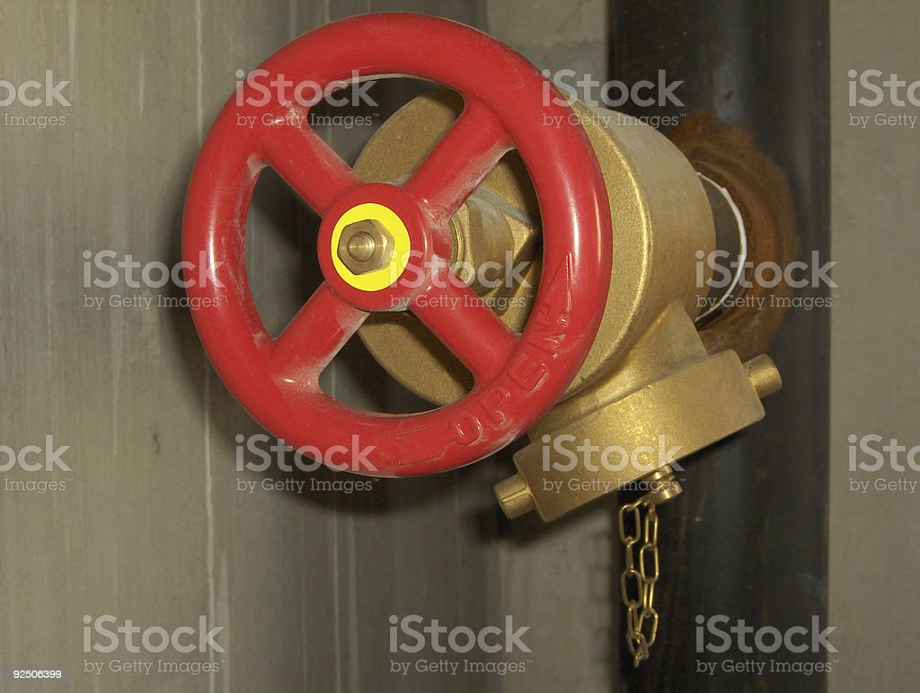 Modern Fire Hydrant royalty-free stock photo