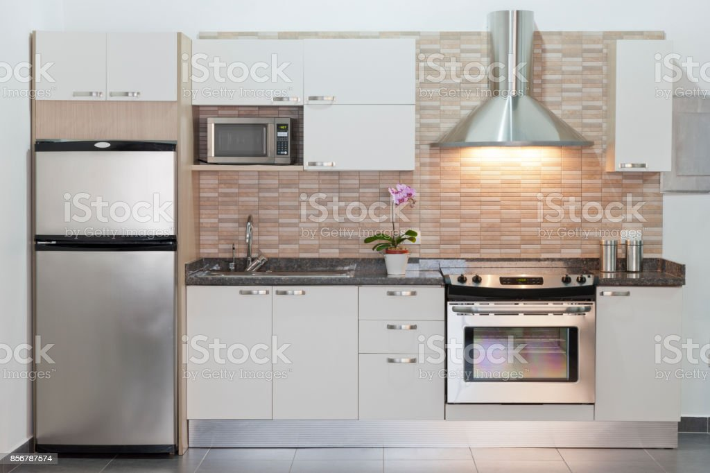 Modern fitted kitchen