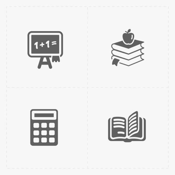 Modern  flat social icons set on White – zdjęcie