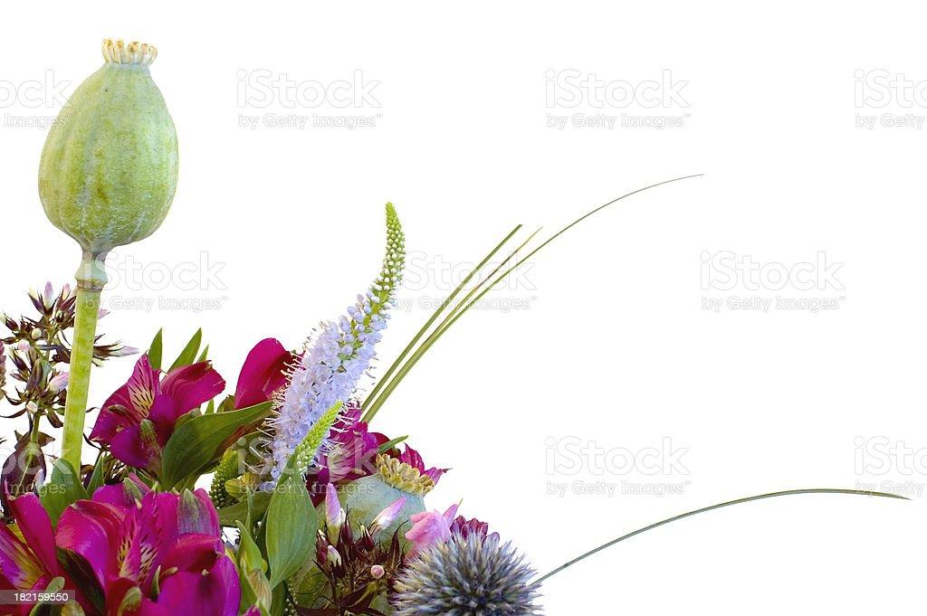 Modern flower arrangement royalty-free stock photo