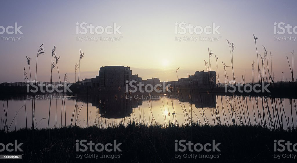 Modern Fortification stock photo