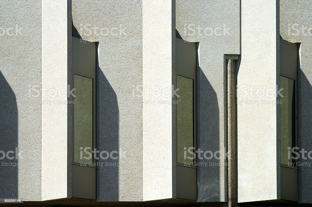 Modern fortress royalty-free stock photo