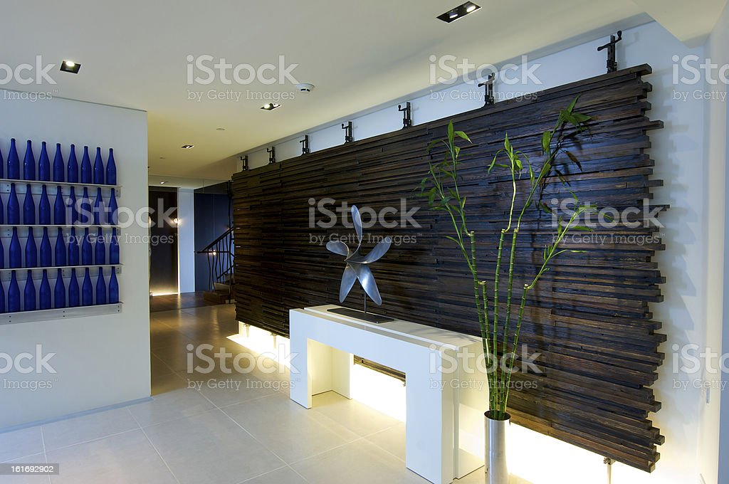 Modern Foyer Images : Modern foyer entrance into home stock photo more pictures of