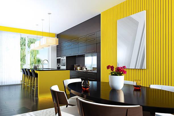 Moderne, frische Küche – Foto