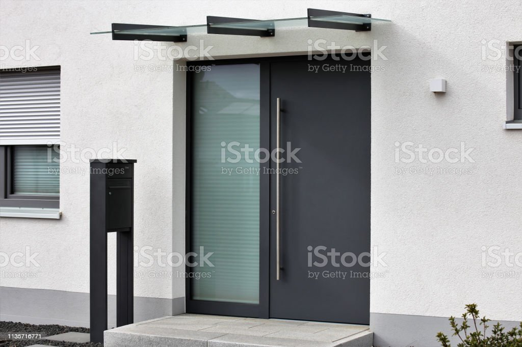 Modern Front Door Stock Photo Download Image Now Istock