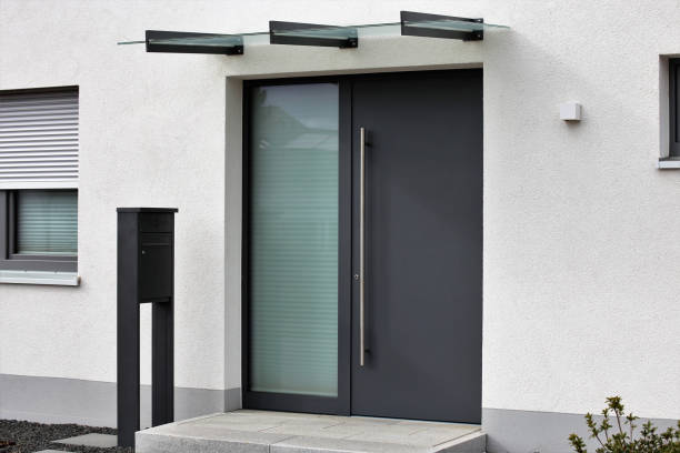 Modern front door Modern front door front door stock pictures, royalty-free photos & images