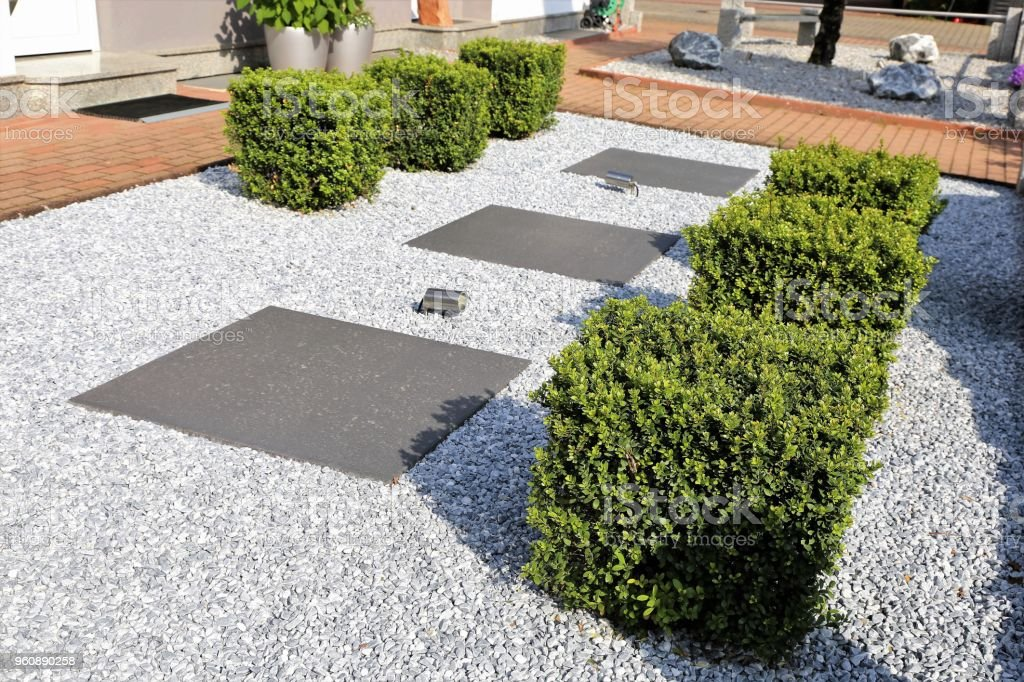 Modern Front Garden Stock Photo Download Image Now Istock