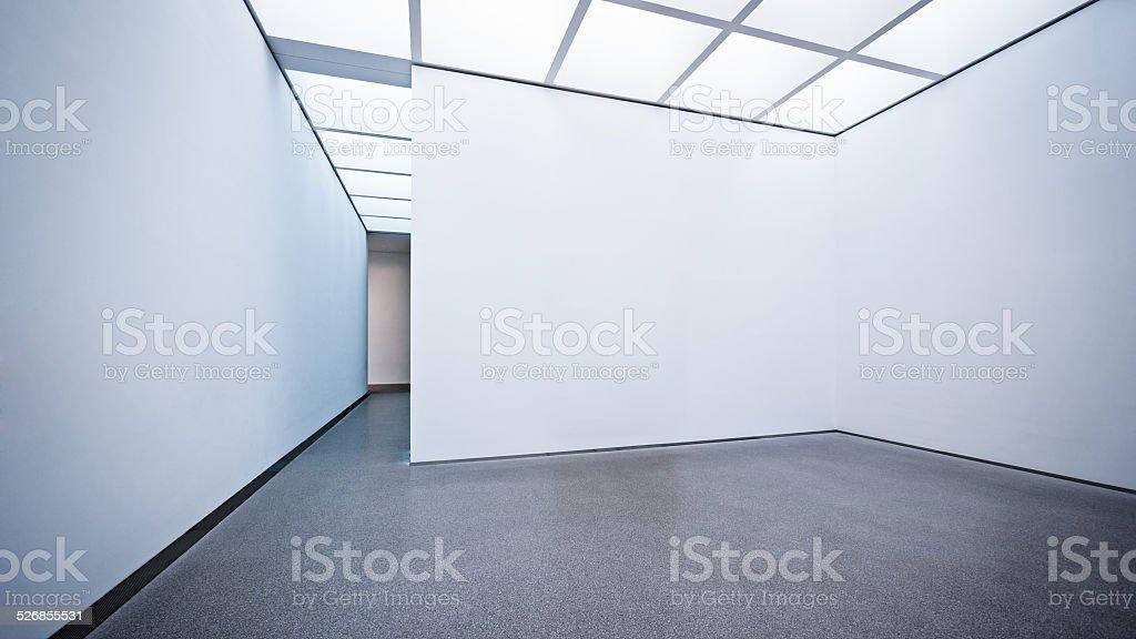 modern gallery stock photo