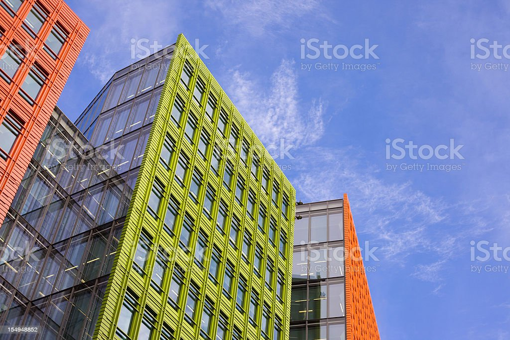 Modern Generic Office Buildings royalty-free stock photo
