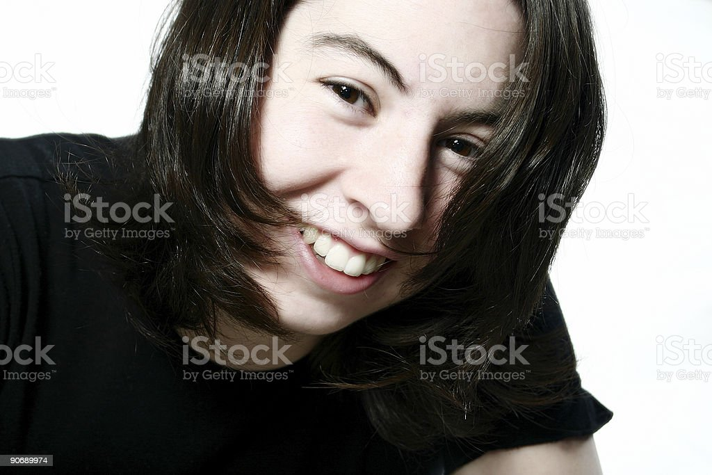 Modern Girl royalty-free stock photo
