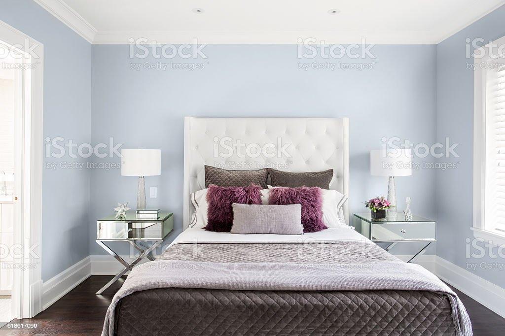 Modern Girls Bedroom stock photo