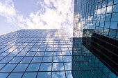 istock Modern Glass and Steel Business Building 490312434