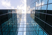 istock Modern Glass and Steel Business Building 490312486
