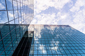 istock Modern Glass and Steel Business Building 490312494
