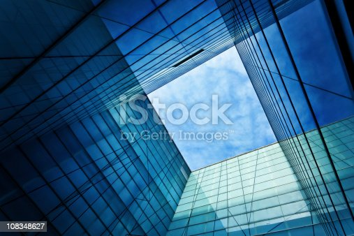 istock Modern Glass Architecture 108348627