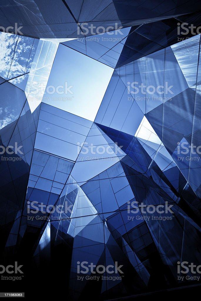 Modern Glass Architecture stock photo