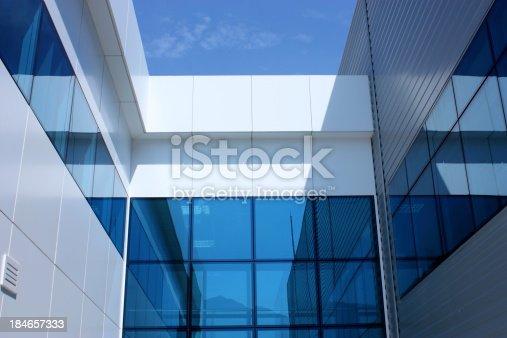 istock Modern Glass Architecture 184657333