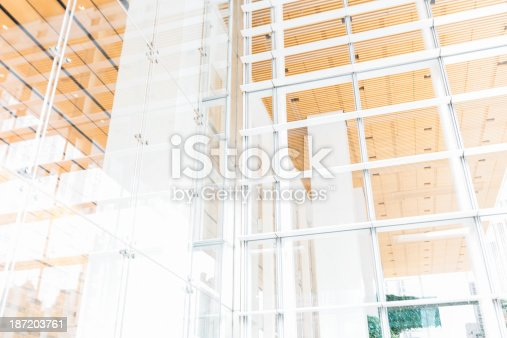 istock Modern Glass Architecture 187203761