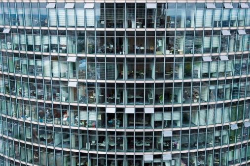 Modern Glass Building, Berlin, Germany