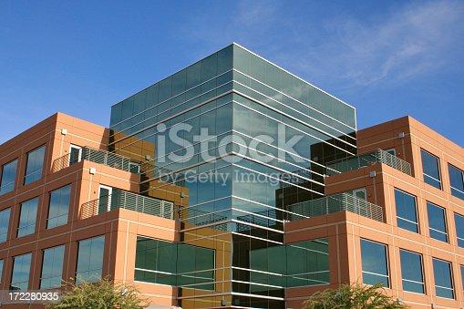 istock Modern Glass Building in Northwest Scottsdale Arizona 172280935