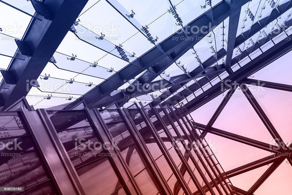 Moderne Glas-Gebäude  – Foto