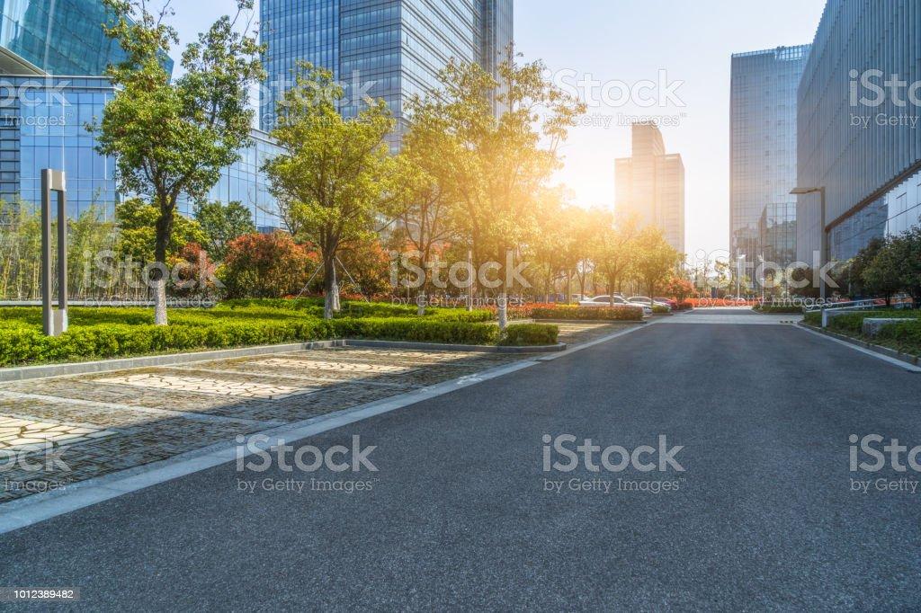 Urban Road, City, Cityscape, Empty Road, Glass - Material