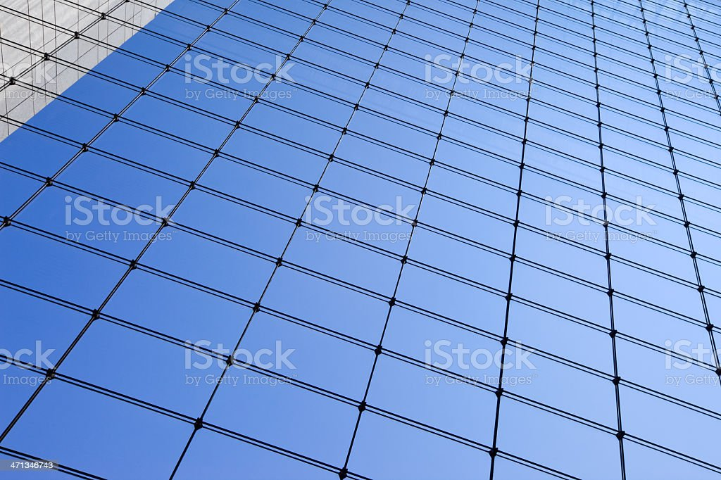 Moderne Glasfassade Ohne Rahmen Kabel Truss Curtain Wallsystem Stock ...