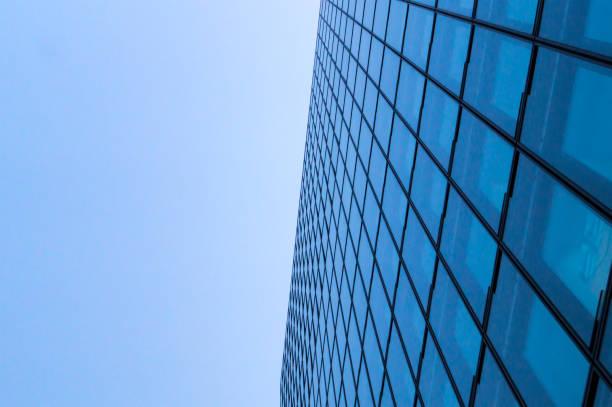 Modern Glass Facade stock photo