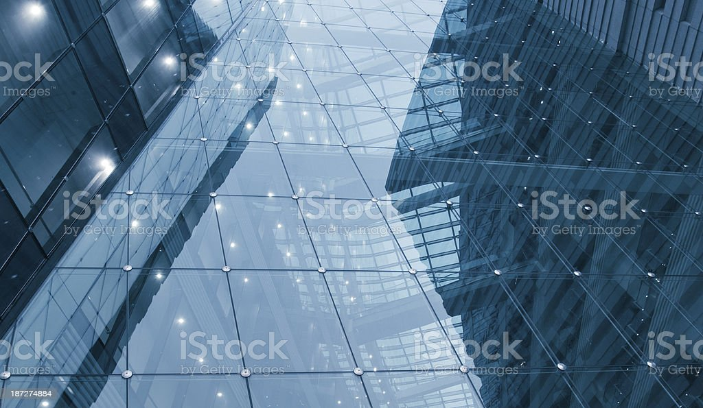 modern glass office architectur royalty-free stock photo