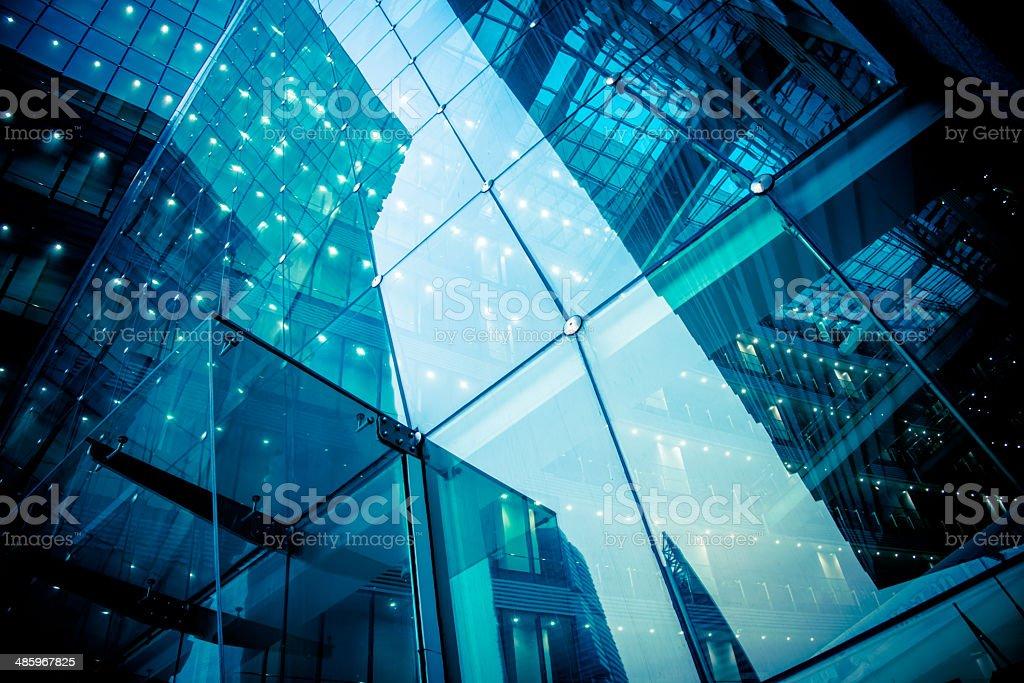 Moderne Glas-Büro architectur – Foto