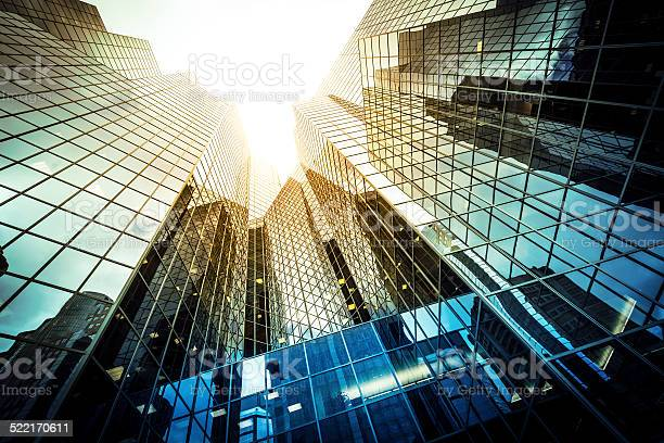 Modern Glass Office Building Stock Photo - Download Image Now