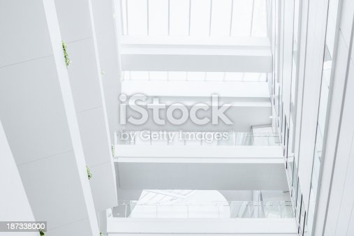 istock Modern Glass Office 187338000