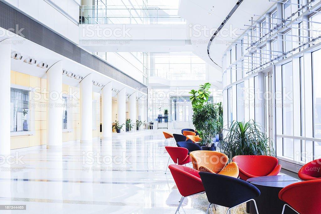 Modern Glass Office royalty-free stock photo