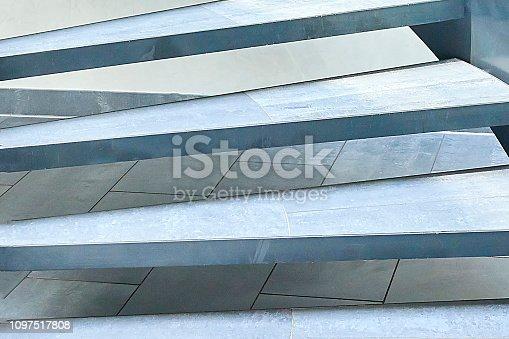 180698194 istock photo Modern glass office spiral staircase 1097517808