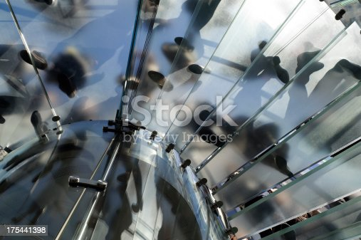 180698194 istock photo Modern Glass Staircase in New York 175441398