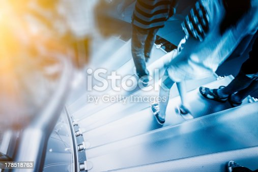istock Modern Glass Staircase 178518763