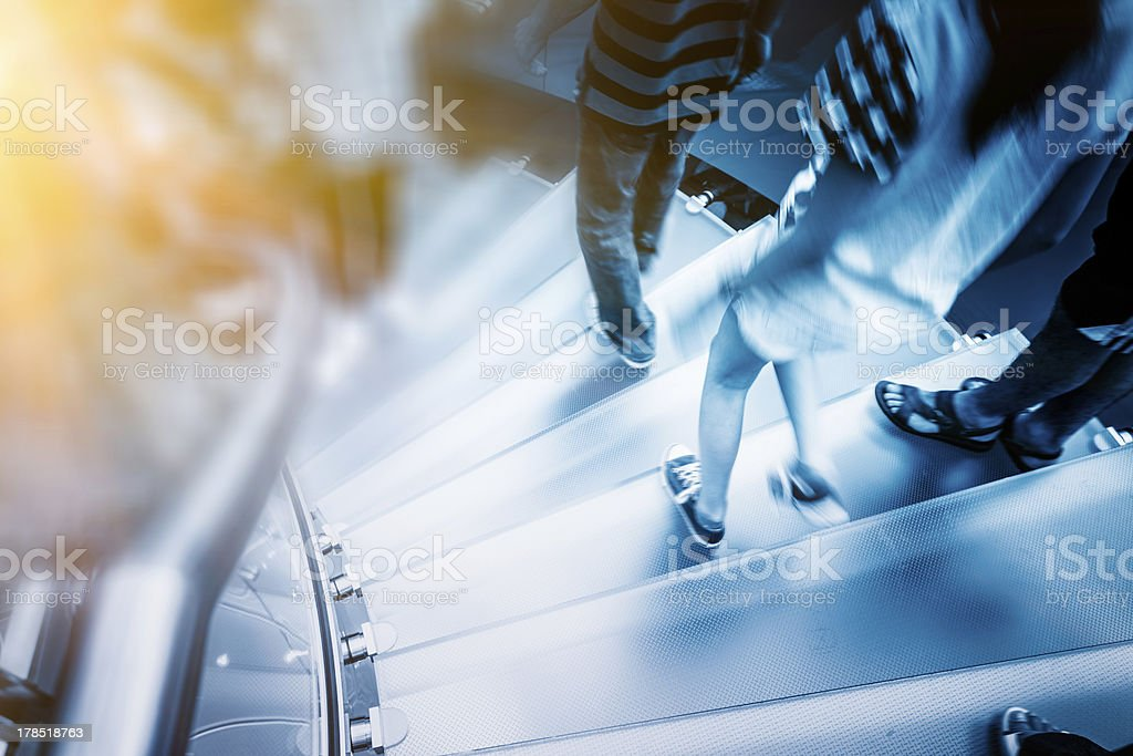 Moderne Glas-Treppe – Foto