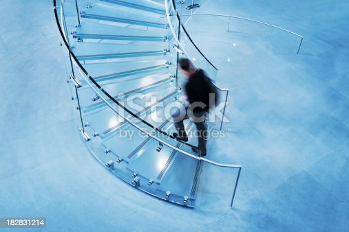180698194 istock photo Modern Glass Staircase 182831214