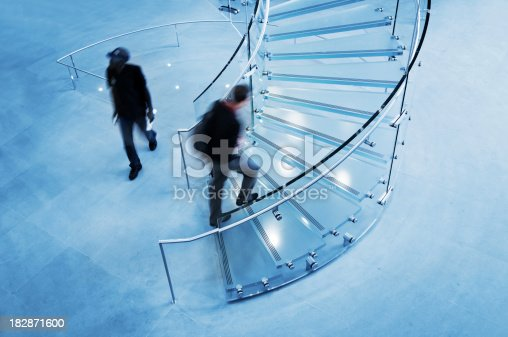 180698194 istock photo Modern Glass Staircase 182871600