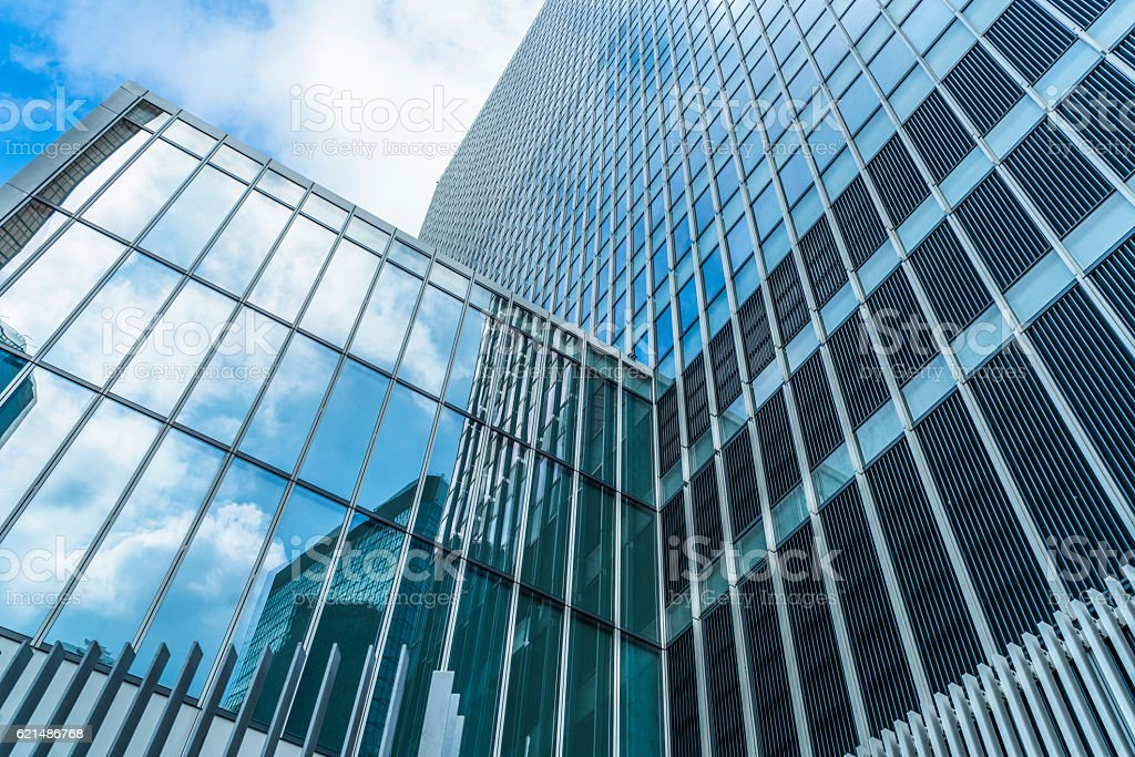 modern glass steel architecture Lizenzfreies stock-foto
