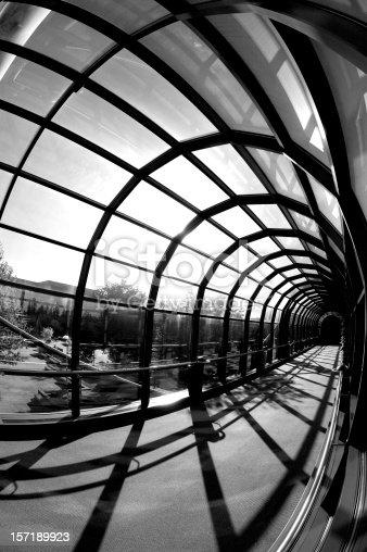 istock Modern Glass Tunnel 157189923