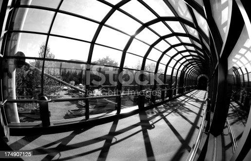 istock Modern Glass Tunnel 174907125