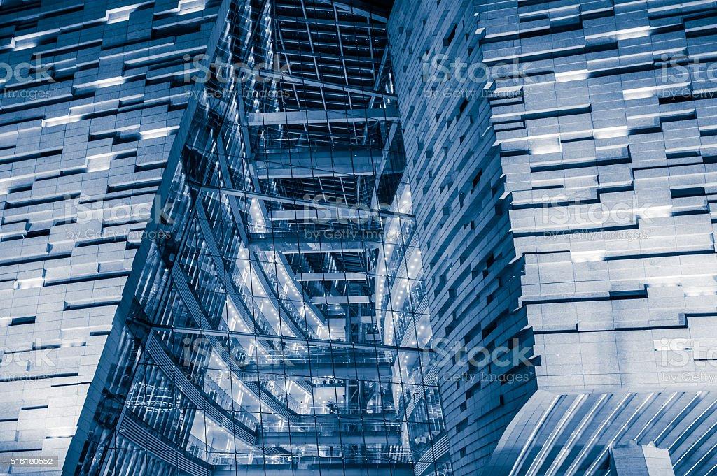 Modern Glass Windows stock photo