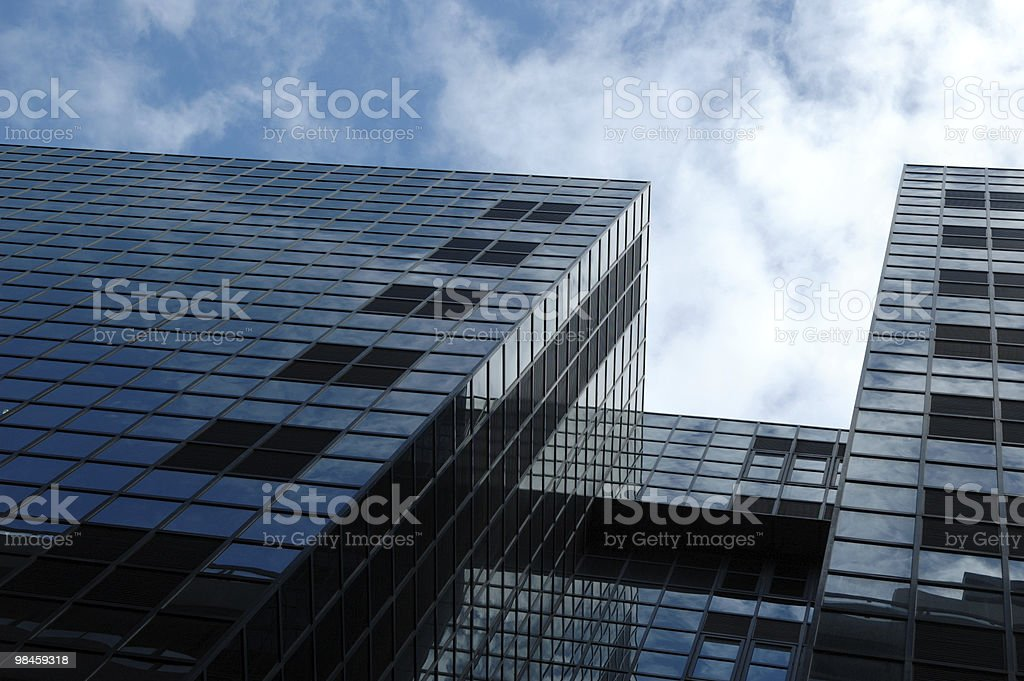 Modern glassbuilding in London royalty-free stock photo