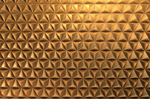 Moderner Goldener Abstrakt – Foto
