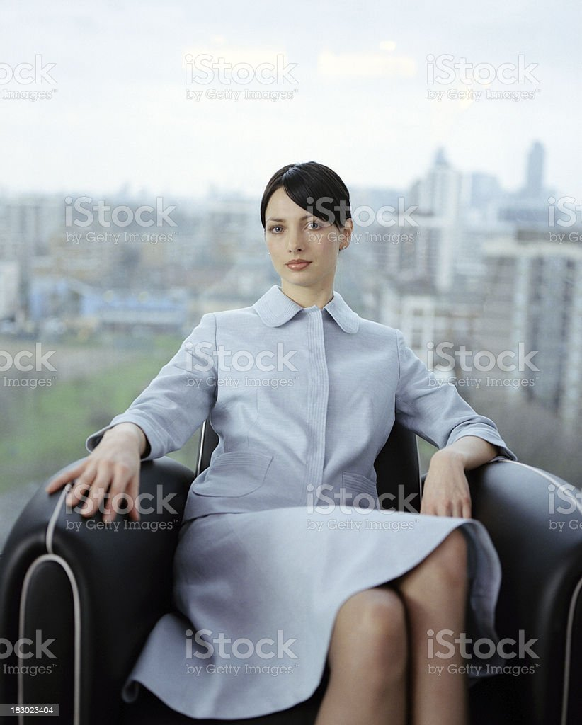 Modern Graphic Businesswoman royalty-free stock photo