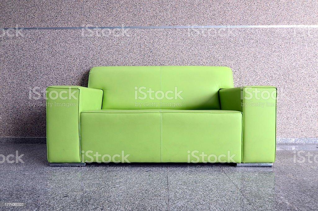 Modern Green Sofa Stock Photo - Download Image Now - iStock