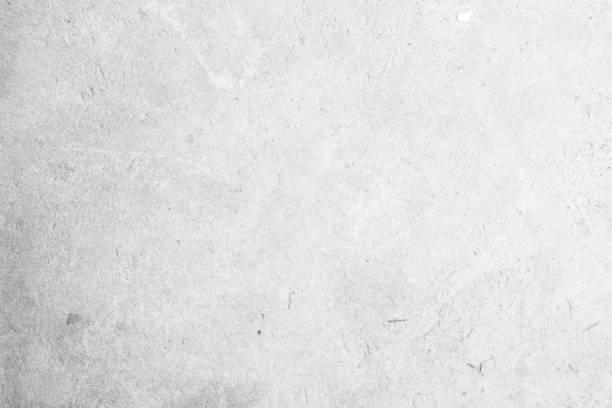 現代灰漆石灰石紋理背景在白光縫家牆紙。後平地鐵混凝土石桌樓概念超現實主義花崗岩採石場灰泥表面背景垃圾圖案。 - 水平面角度 個照片及圖片檔