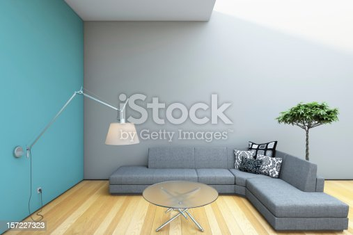 1095381860istockphoto Modern Grey Sofa 157227323