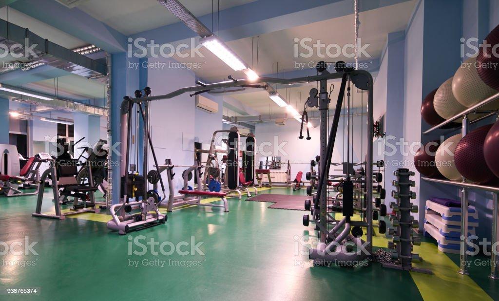 Photo Libre De Droit De Interieur De La Salle De Sport